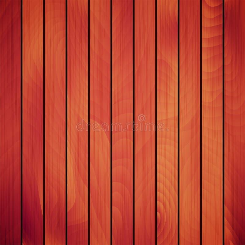 Tablón de madera del vector ilustración del vector