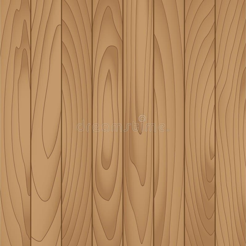 Tablón de madera del vector para el fondo ilustración del vector