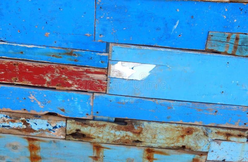 Tablón de madera de una nave arruinada fotografía de archivo