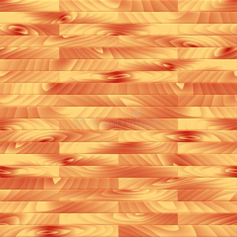 Tablón inconsútil de madera del vector libre illustration