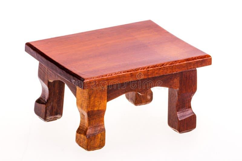Tabla de madera aislada foto de archivo libre de regalías