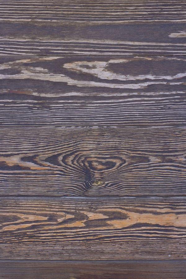 Tabla de madera asada envejecida foto de archivo