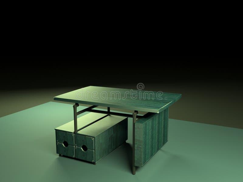Tabla de plegamiento 3d model-1 imagenes de archivo