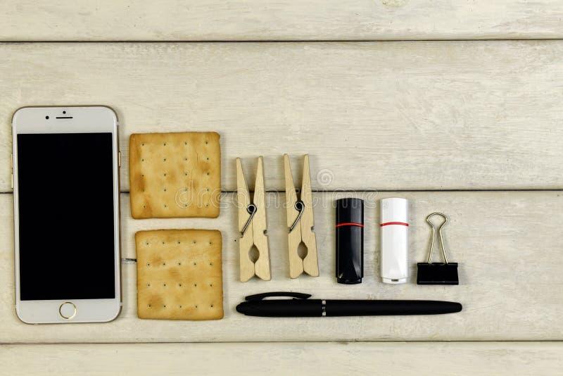 Tabla de trabajo, tabla de funcionamiento imágenes de archivo libres de regalías