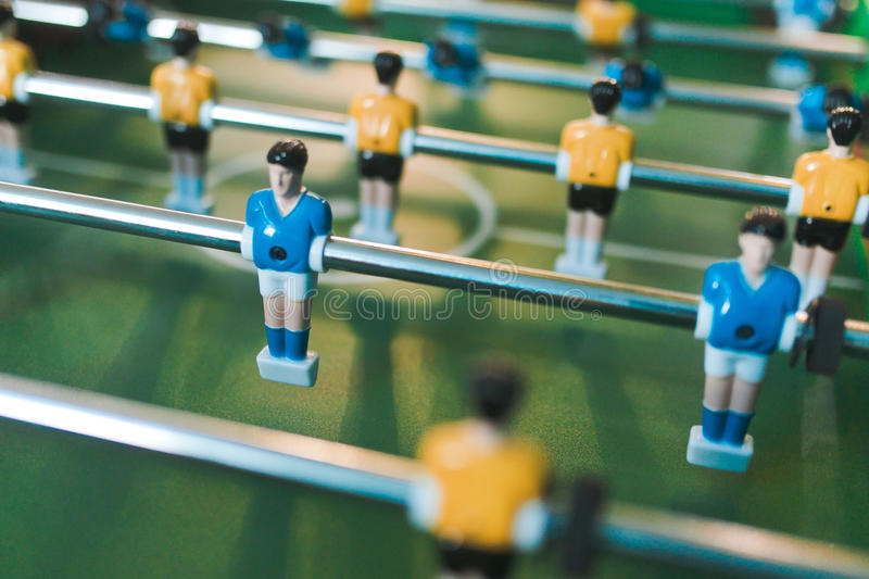 Tabla del fútbol de los juegos fotografía de archivo