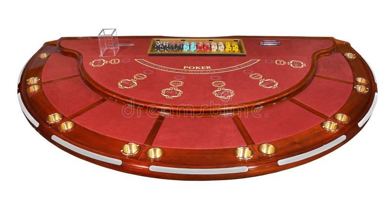 Tabla del póker imagen de archivo