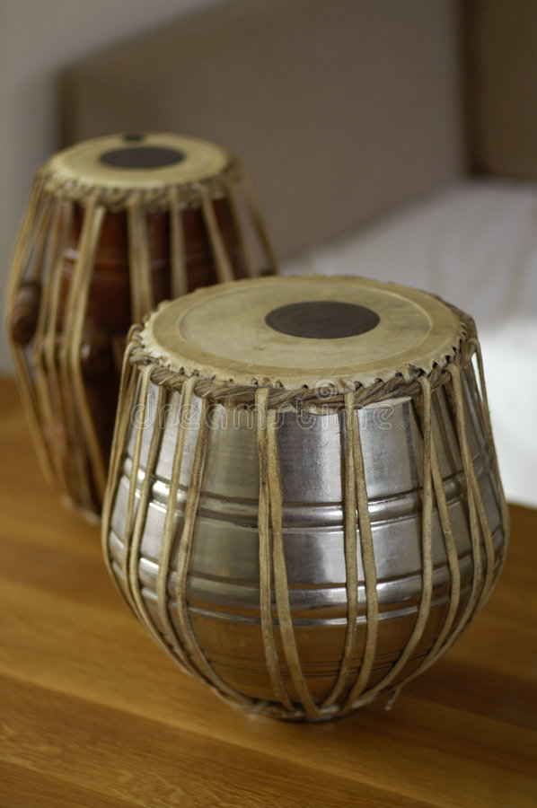 Tabla drums 2 royalty free stock image