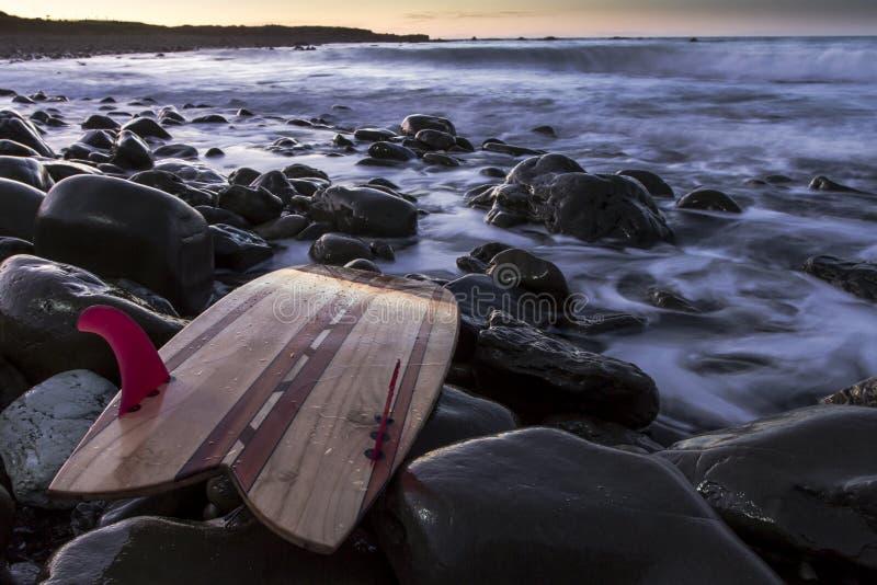 Tabla hawaiana foto de archivo