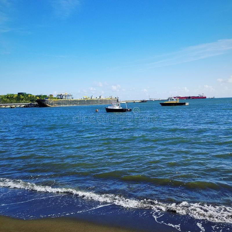 Tablado-playa Guayanilla lizenzfreies stockbild