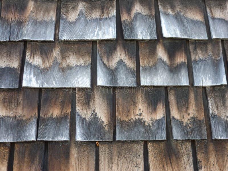 Tablas de madera antiguas con tonos grises y beige imágenes de archivo libres de regalías