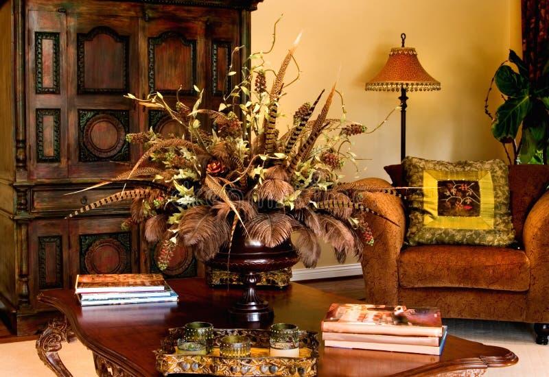 Table élégante de Coffe photographie stock