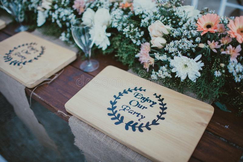 table photographie stock libre de droits