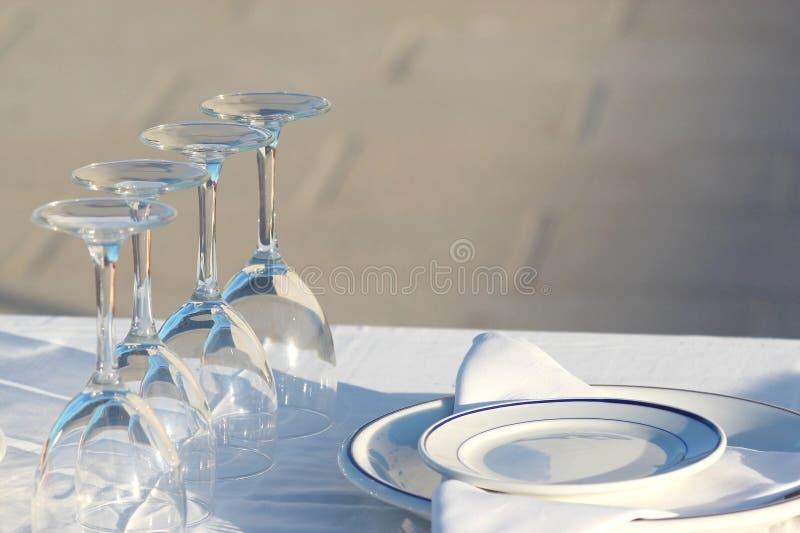 Table royalty free stock photos