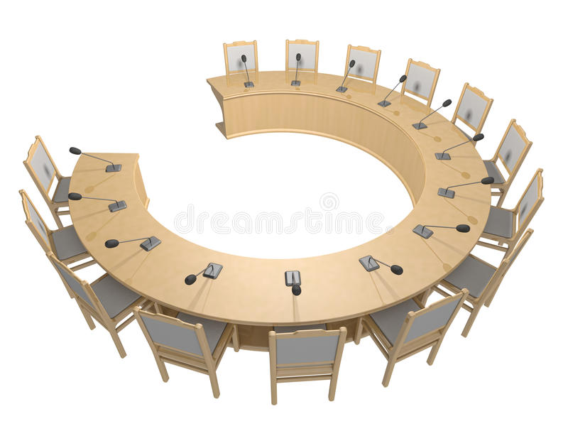 Download Table stock illustration. Illustration of speech, microphone - 23542251