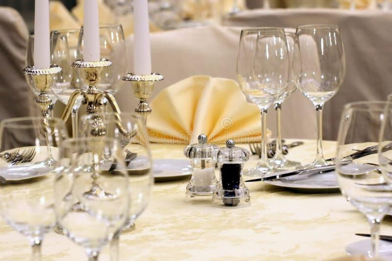 Download Table arrangement stock photo. Image of decoration, dish - 10661666