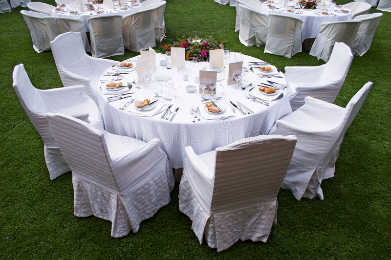Table of banquet royalty free stock images