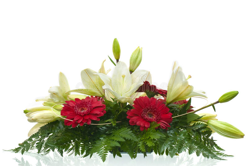 Download Table bouquet of flowers stock image. Image of botanical - 17655793