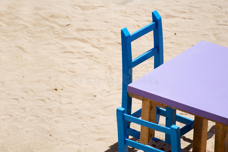 Table And Chair Royalty Free Stock Photography