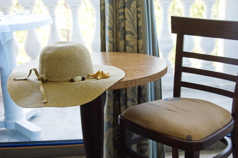 Download Table And Chair In Hotel Room Stock Photo - Image of accommodation, interior: 10024274