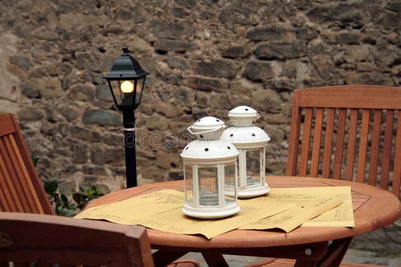 Download Table and chairs stock photo. Image of castiglione, tuscany - 9001226