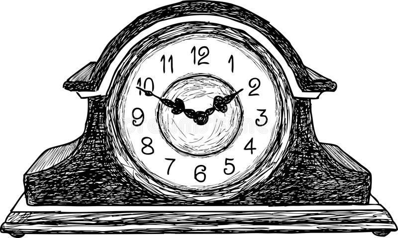 table clock stock image  image of countdown  glass  timer