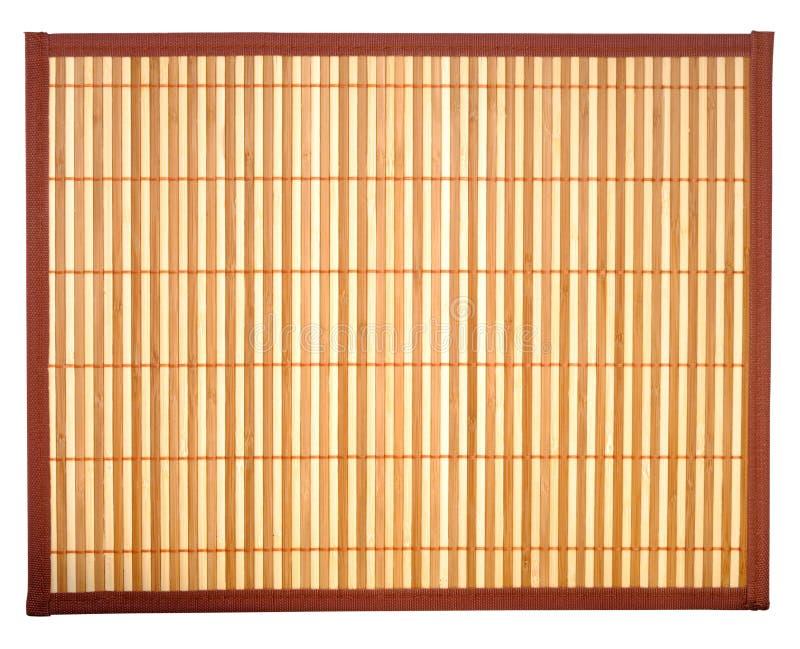 Table-cloth de bambu fotos de stock