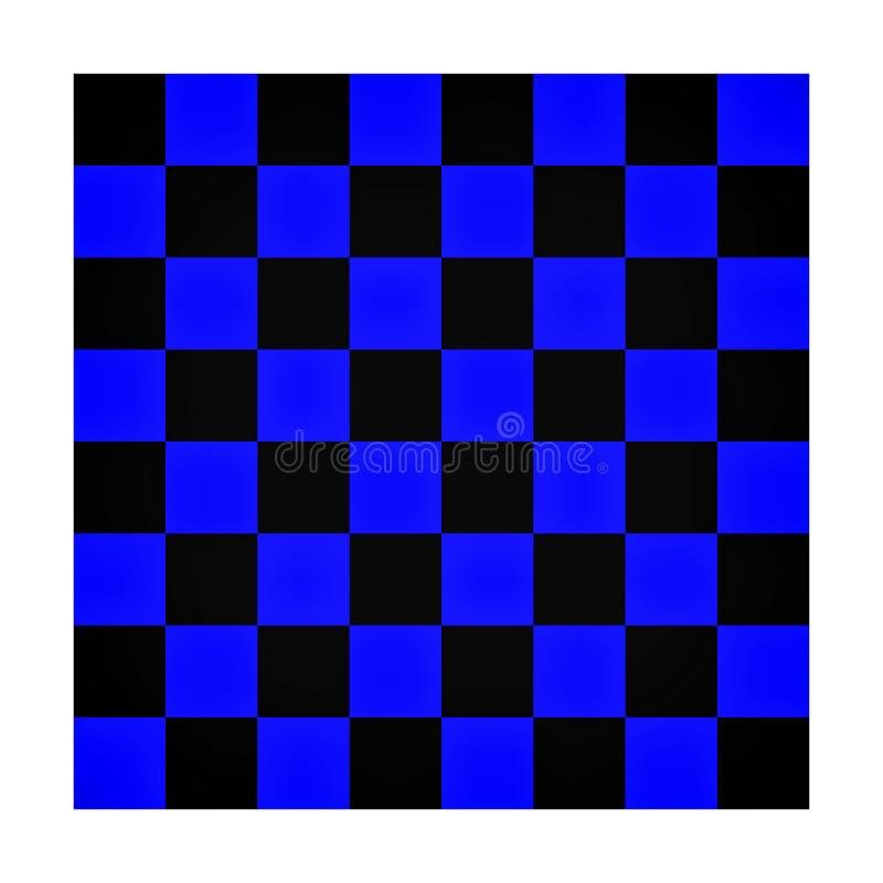 Table colorée d'échecs illustration de vecteur