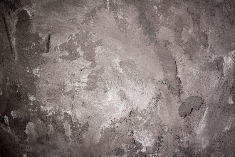 Table concrète en pierre repérée par noir gris photographie stock libre de droits
