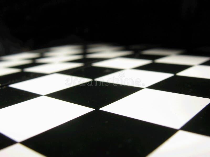 Table d'échecs photo libre de droits