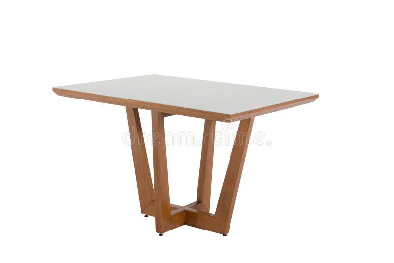 table d'isolement sur le blanc photo libre de droits