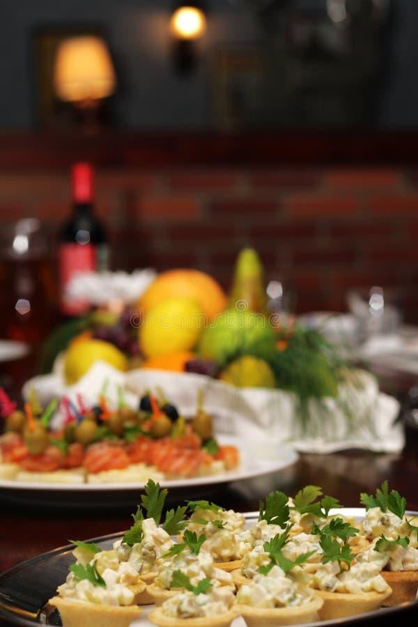 Table de banquet photographie stock