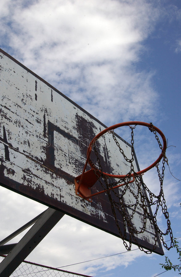 Table de basket-ball pour la rue image libre de droits