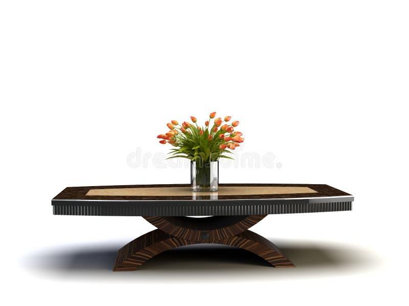 table de calice illustration stock