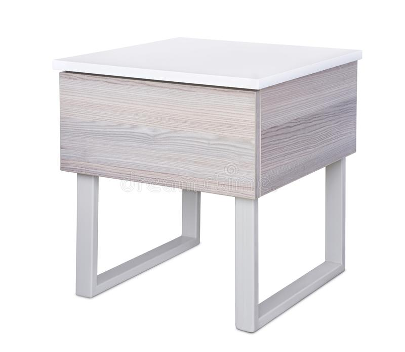 du Grise Table stock De Image Chevet Image Moderne 4RA5Lj