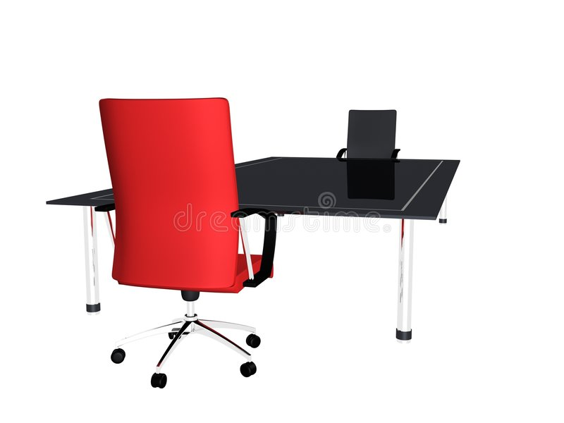 Table de conférence illustration stock