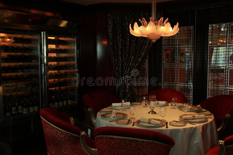 Table de Dinning images stock