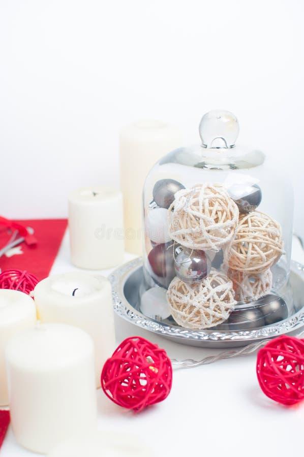 Table de fête de Noël image libre de droits
