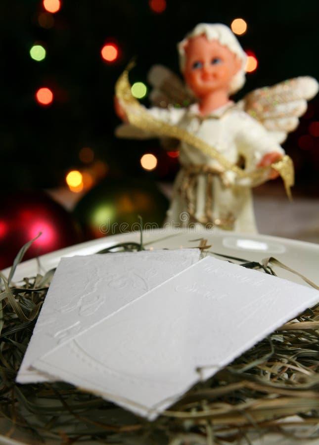 Table de Noël images stock