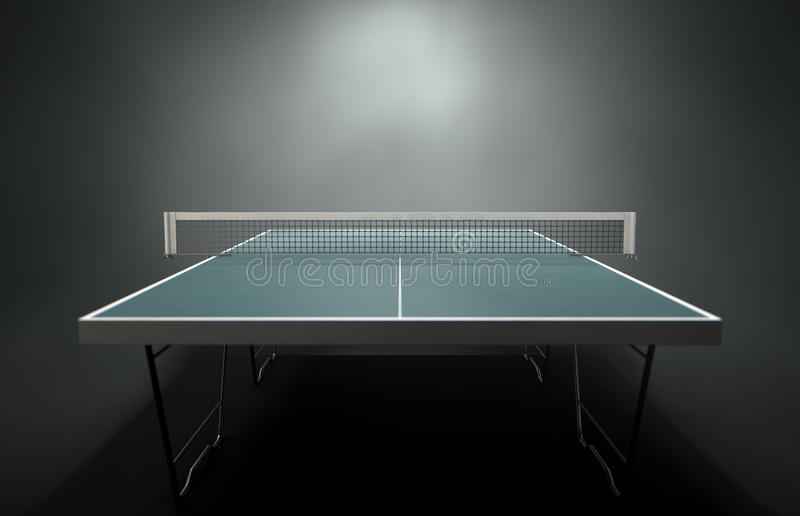 Table de ping-pong illustration stock