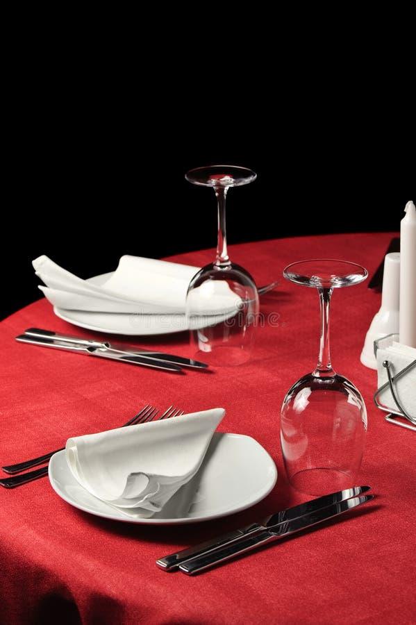 Table De Restaurant Image libre de droits