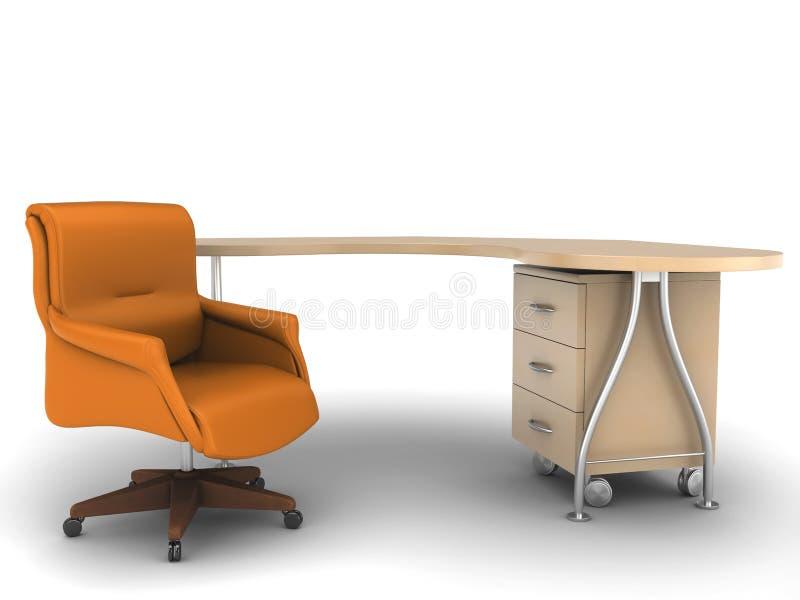 Download Table De Travail De Bureau De Présidence Illustration Stock - Illustration du worktable, affaires: 8658785