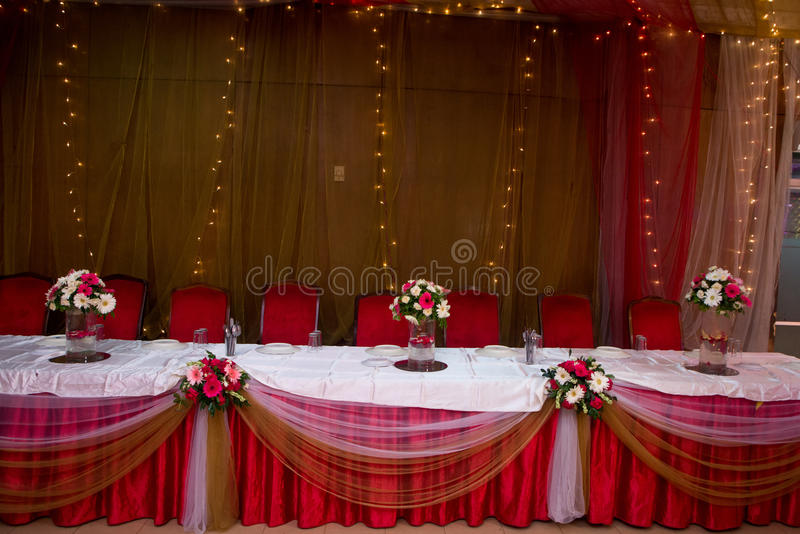 Table de VIP photographie stock libre de droits
