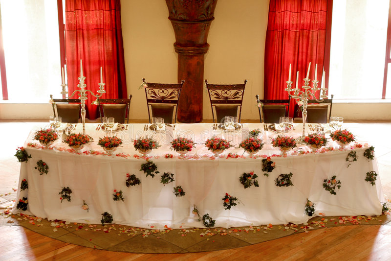Table Decor royalty free stock image