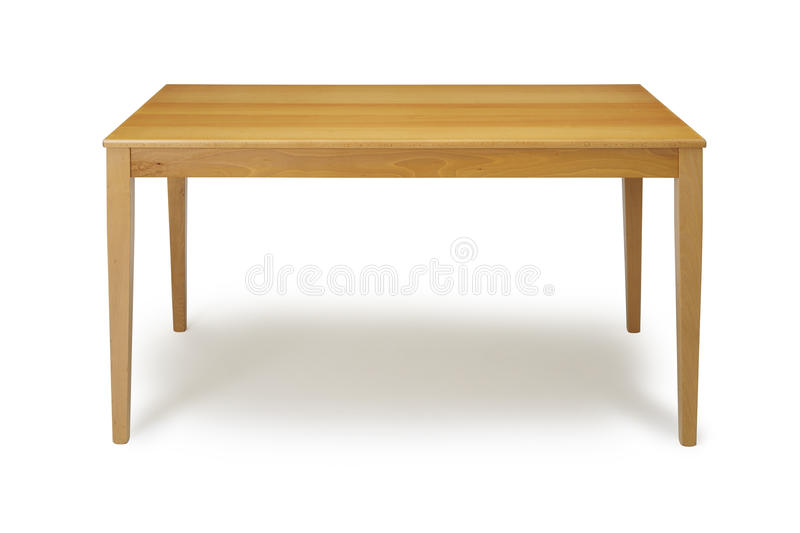 Table en bois photos libres de droits