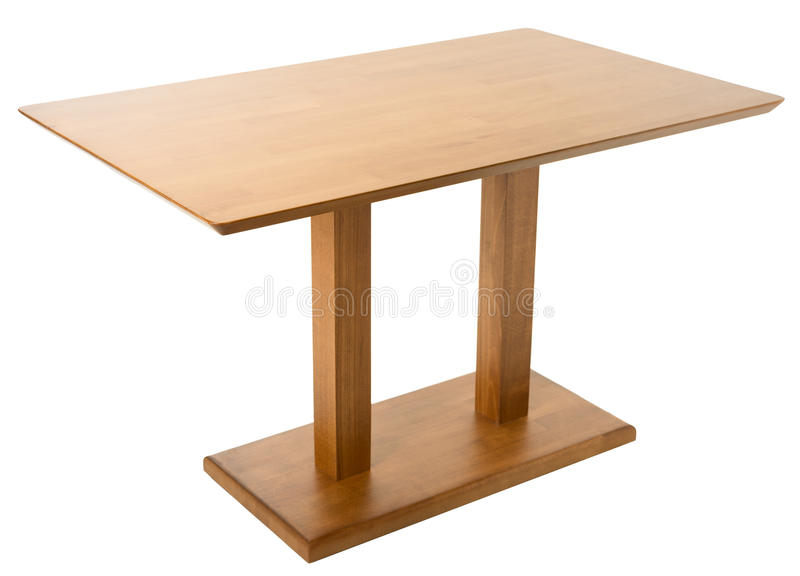 Table en bois photographie stock