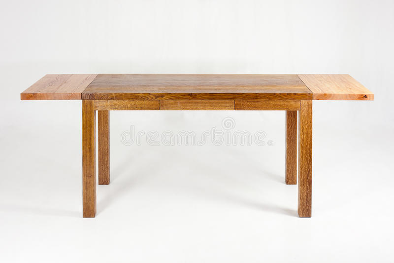 Table en bois images stock