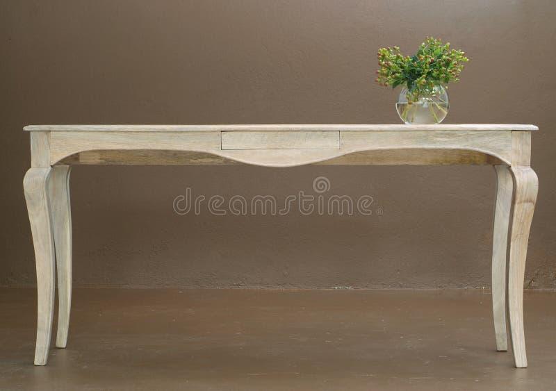Table en bois chinoise photo stock