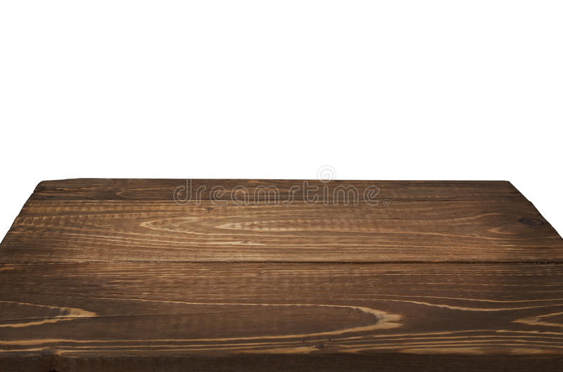 table en bois dans la perspective sur le fond blanc photo stock image du brutal isolement. Black Bedroom Furniture Sets. Home Design Ideas