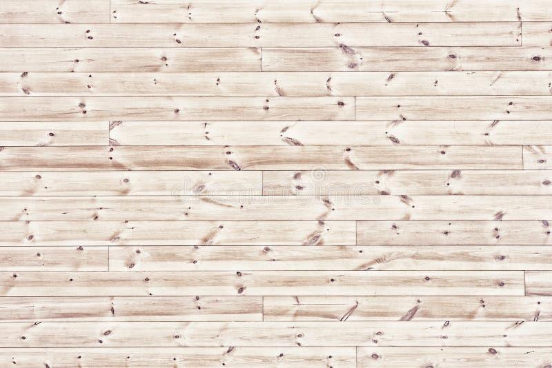 Table en bois de lumière naturelle - fond horizontal de conseils en bois images libres de droits