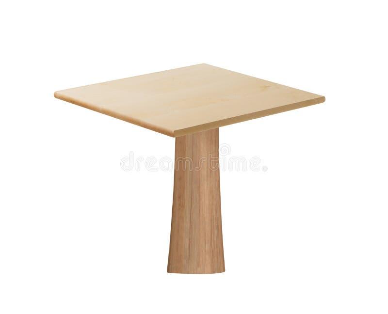 Table en bois - meuble photographie stock